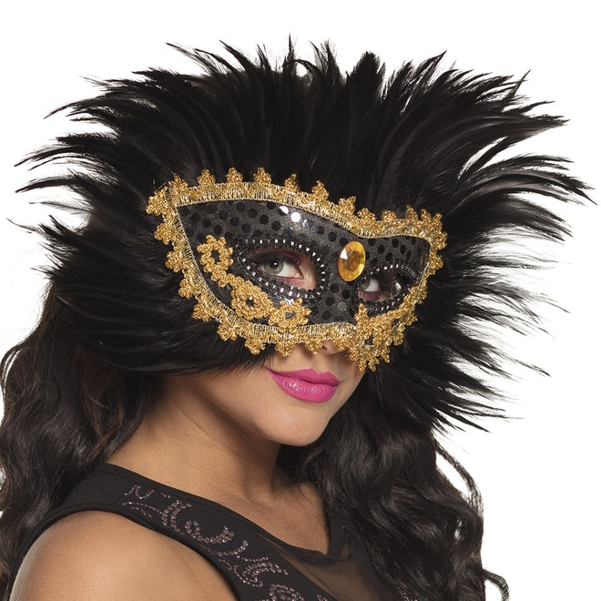 Oogmasker raven queen