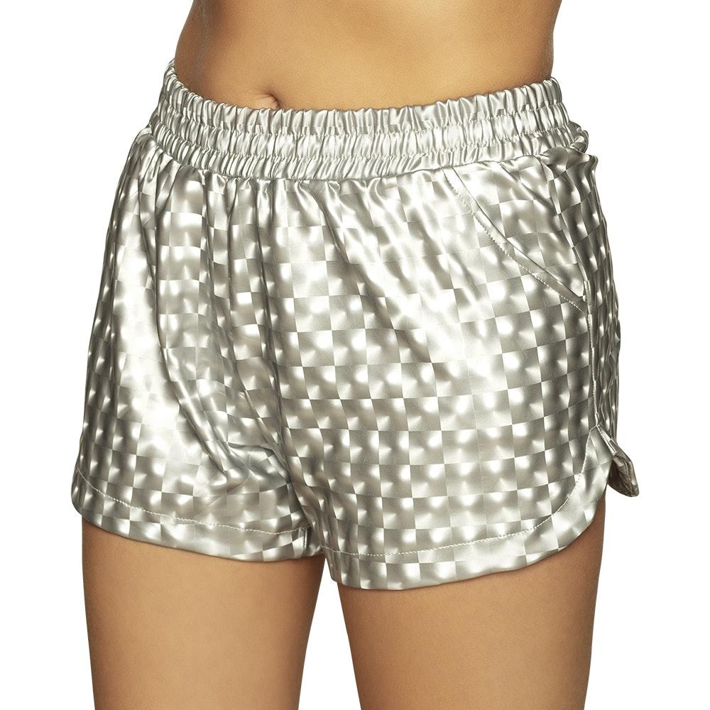 Hot pants Sporty zilver