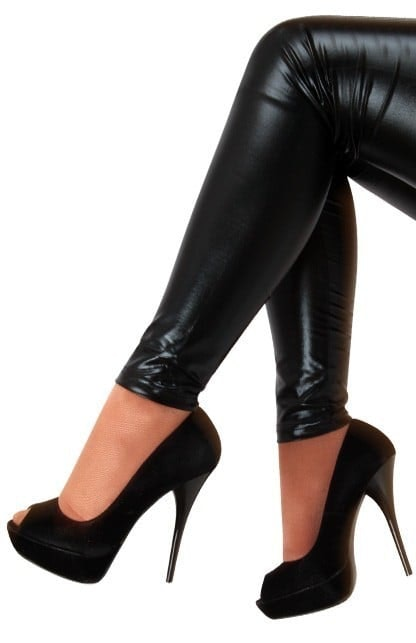 Zwarte legging