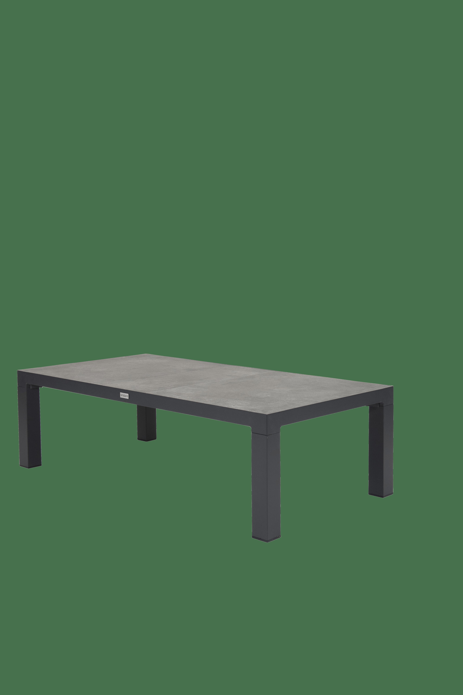 QOPPS Loungeset Atanta 2 zits loungebank met 2 lougne stoelen en tafel Cleavland