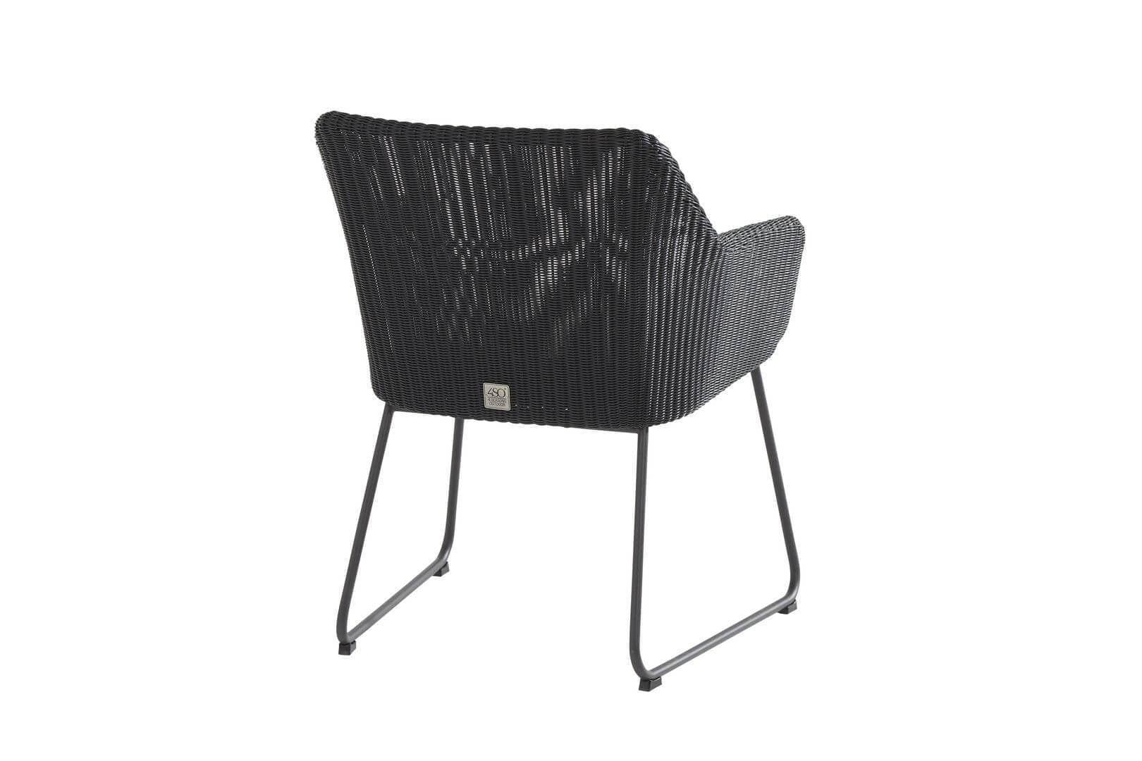 Wicker Eettafel Set Met 8 Stoelen En 4 Krukken Zwart.Wicker Dining Stoel Kopen Online Internetwinkel
