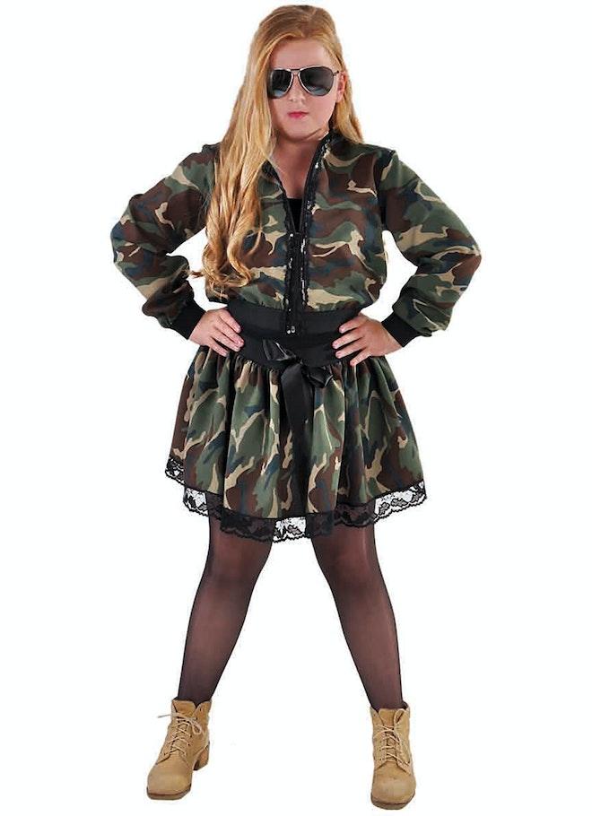 Rok camouflage