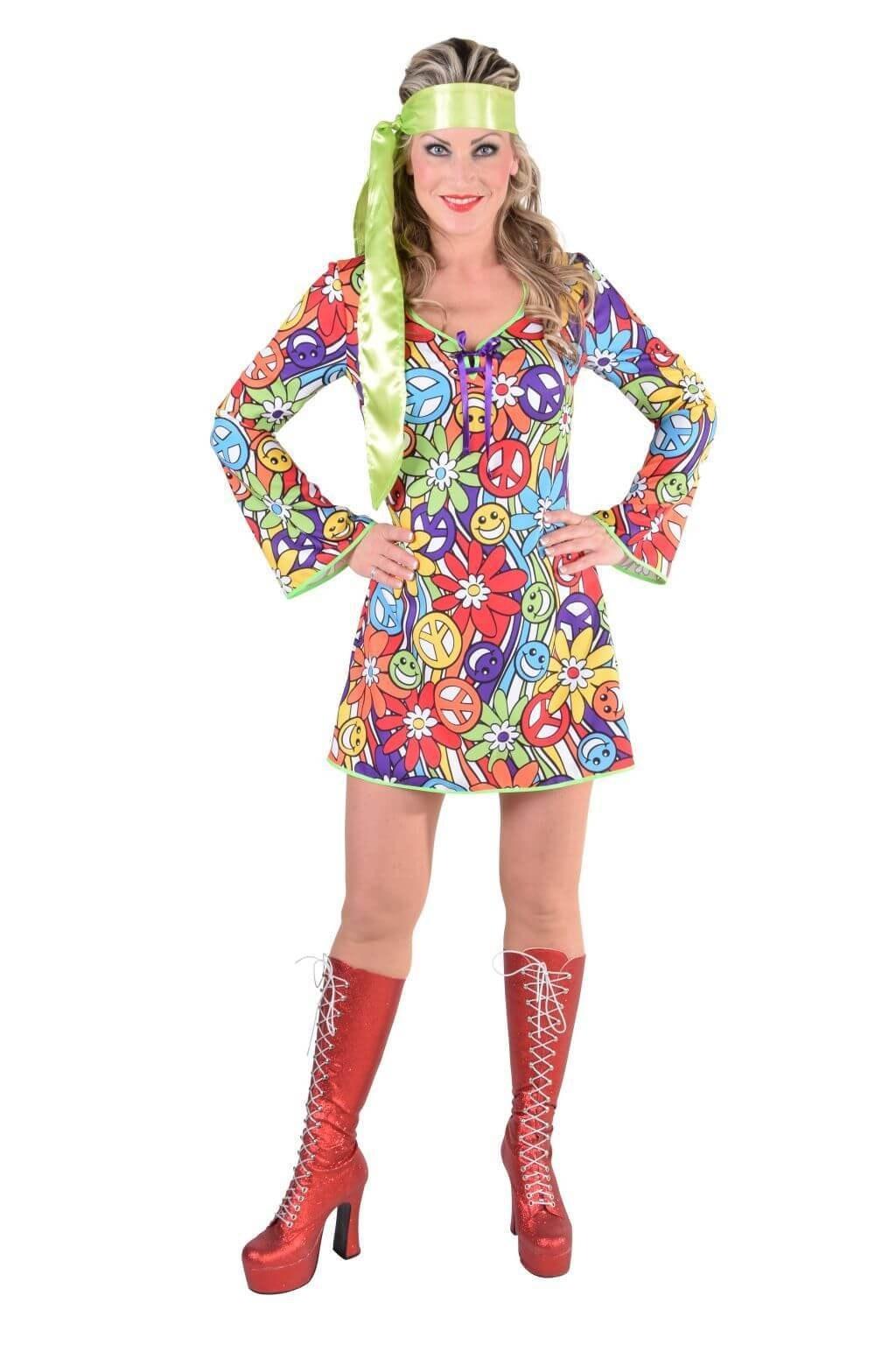 70's basic jurkje - hippie smile