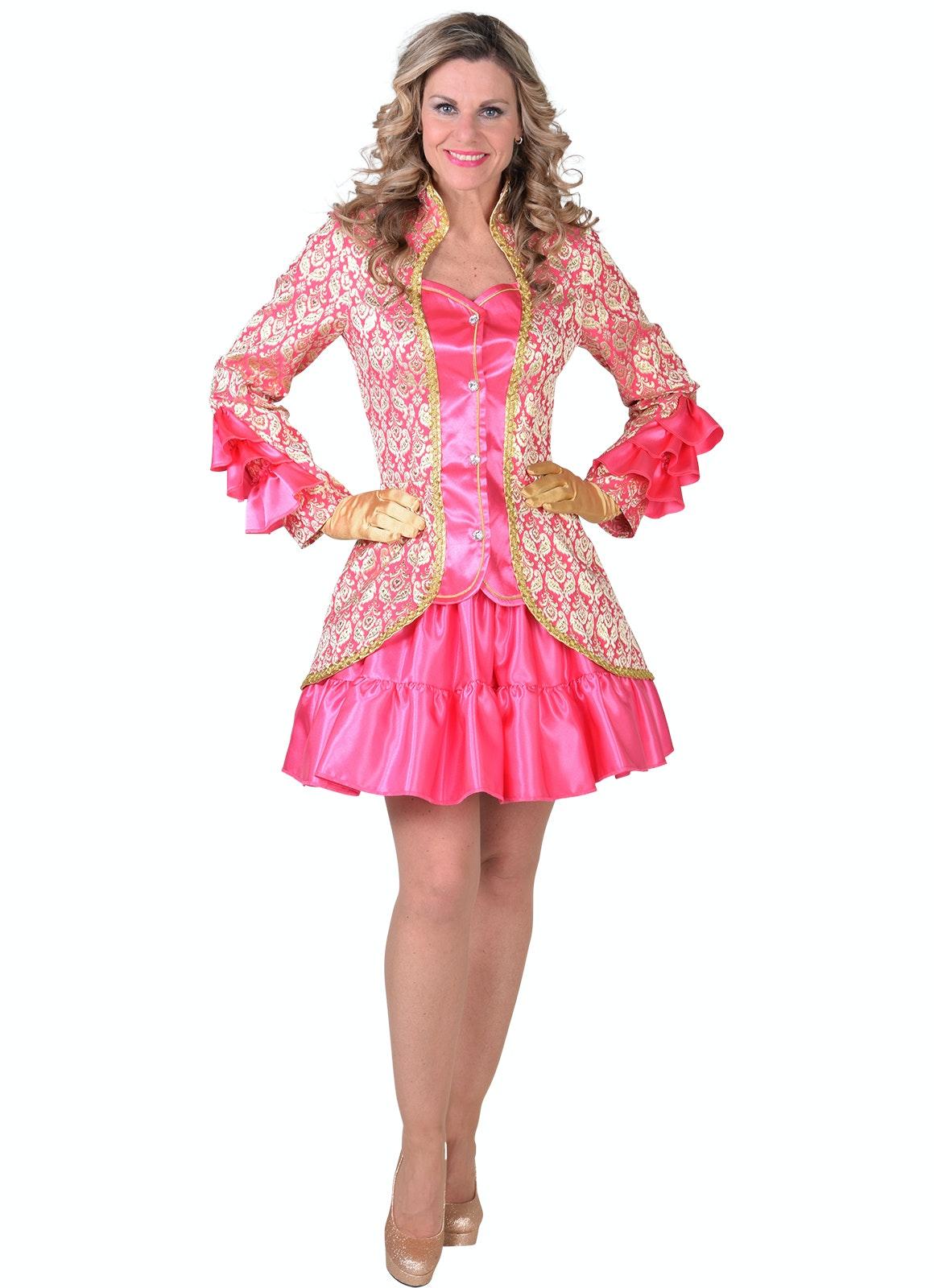 Brocaat jasje brulesque pink