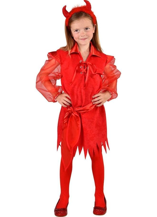 Halloween jurk rood