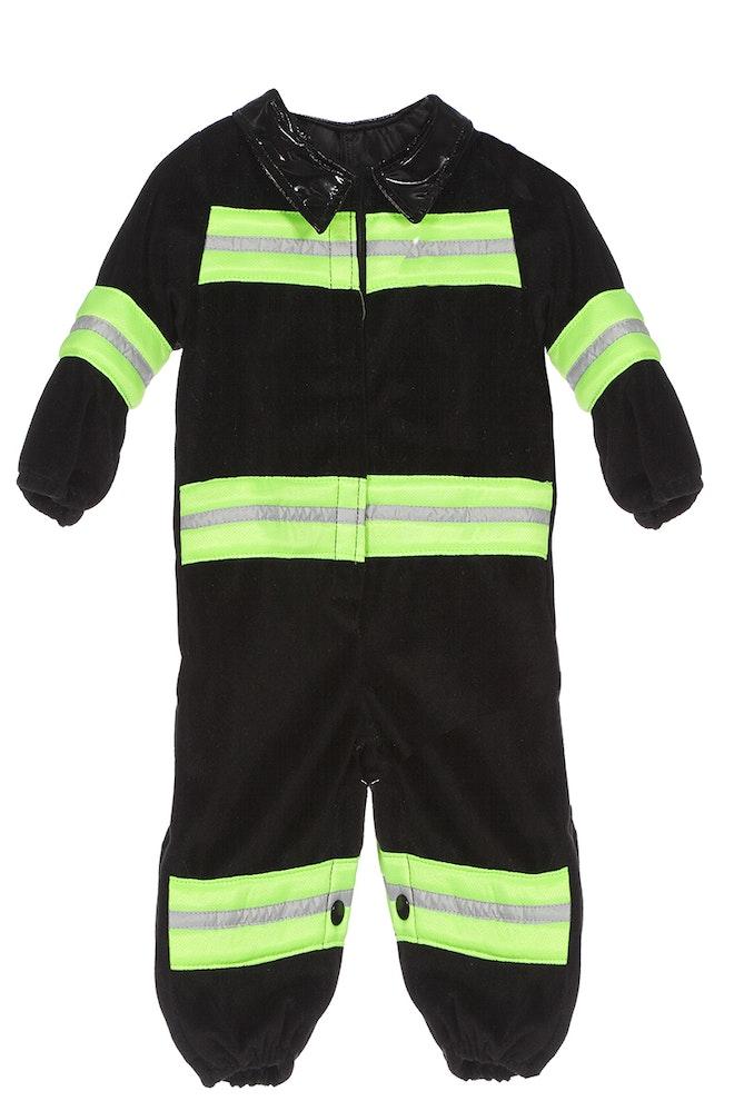 Onesie baby brandweerman