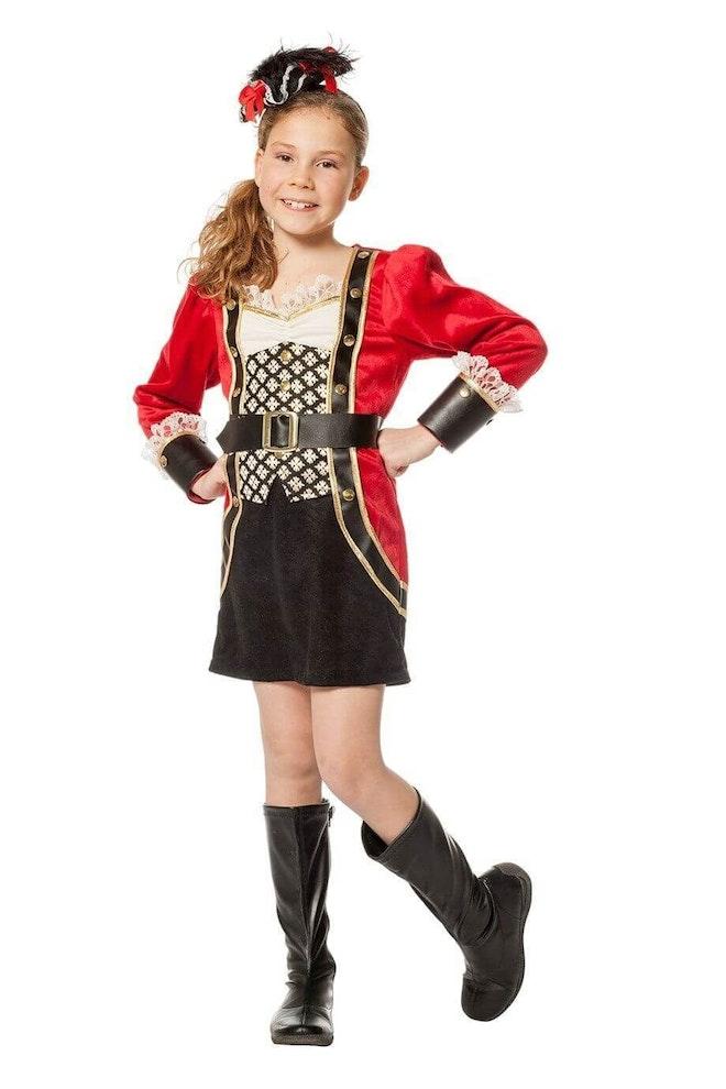 Piraat meisje op=op