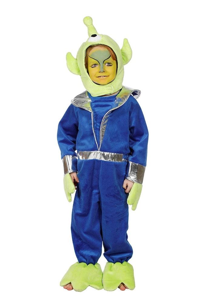 Kleine groene alien