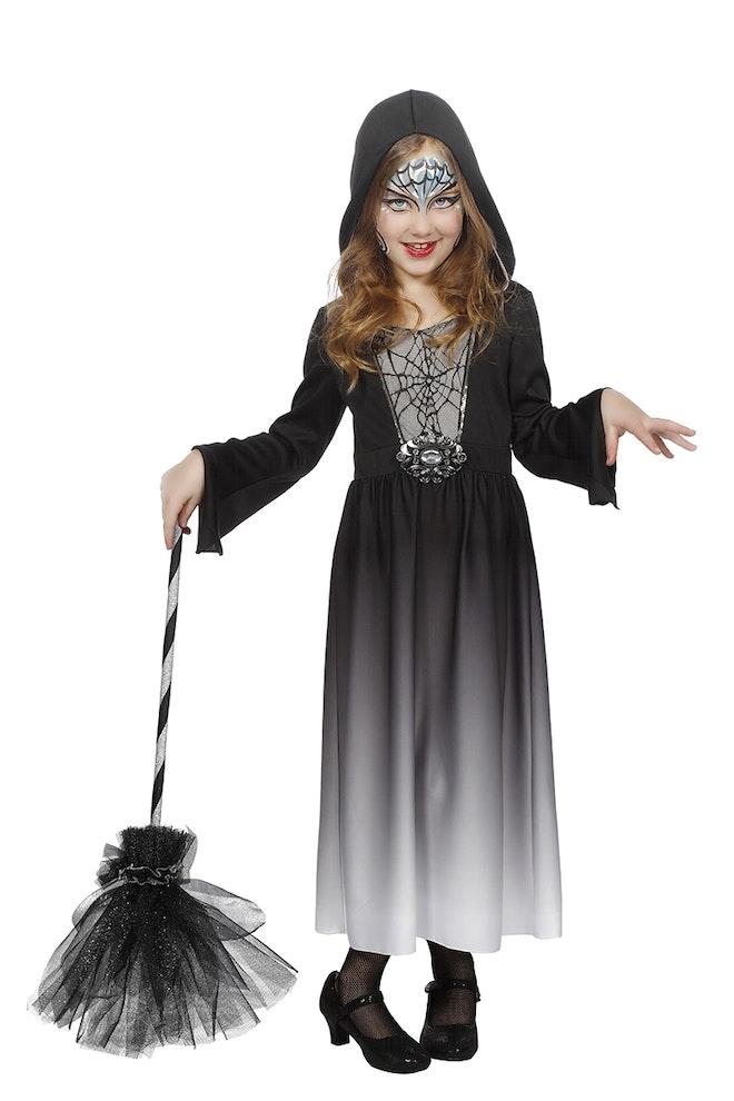 Halloween jurk met capuchon