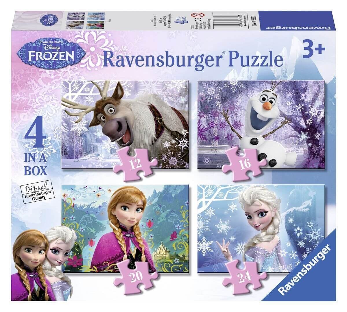 Ravensburger Frozen Puzzel 4 in 1