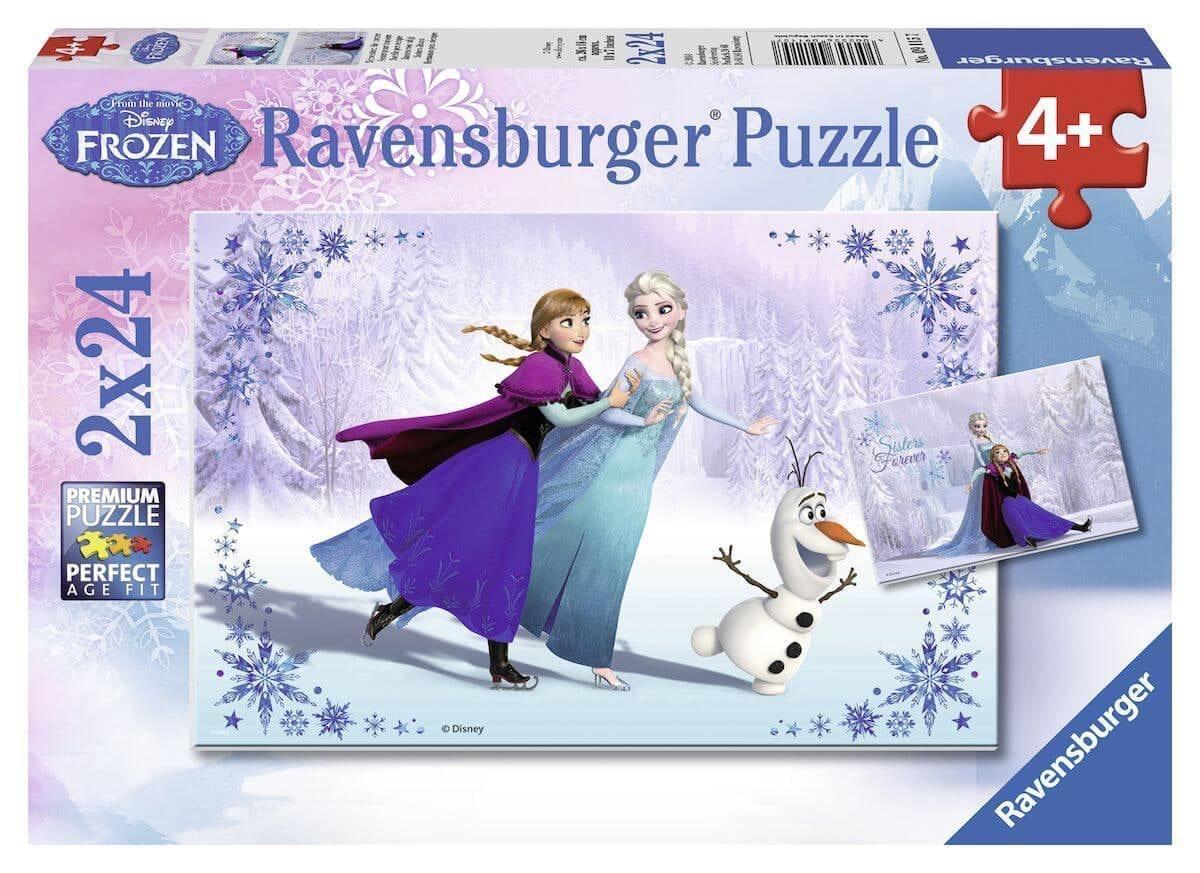 Ravensburger Frozen Puzzel 2 Stuks