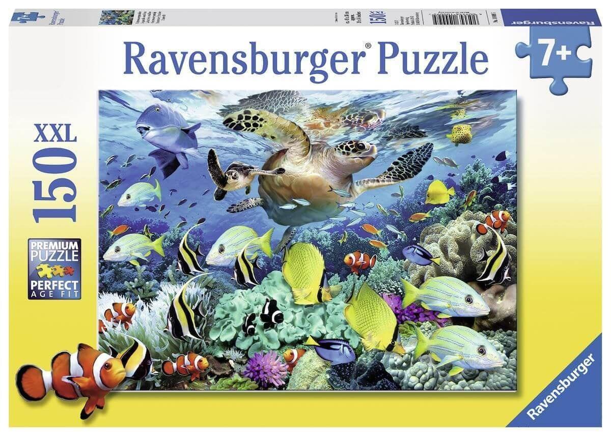 Ravensburger puzzel Onderwaterparadijs 150 XXL puzzelstukjes
