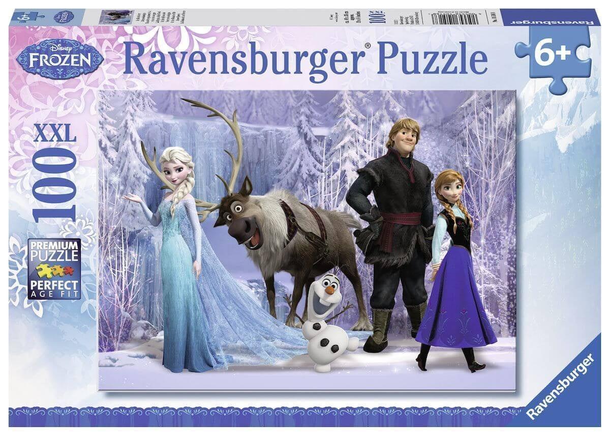 Disney Frozen Puzzel: In het rijk van de Sneeuwkoningin, 100st.