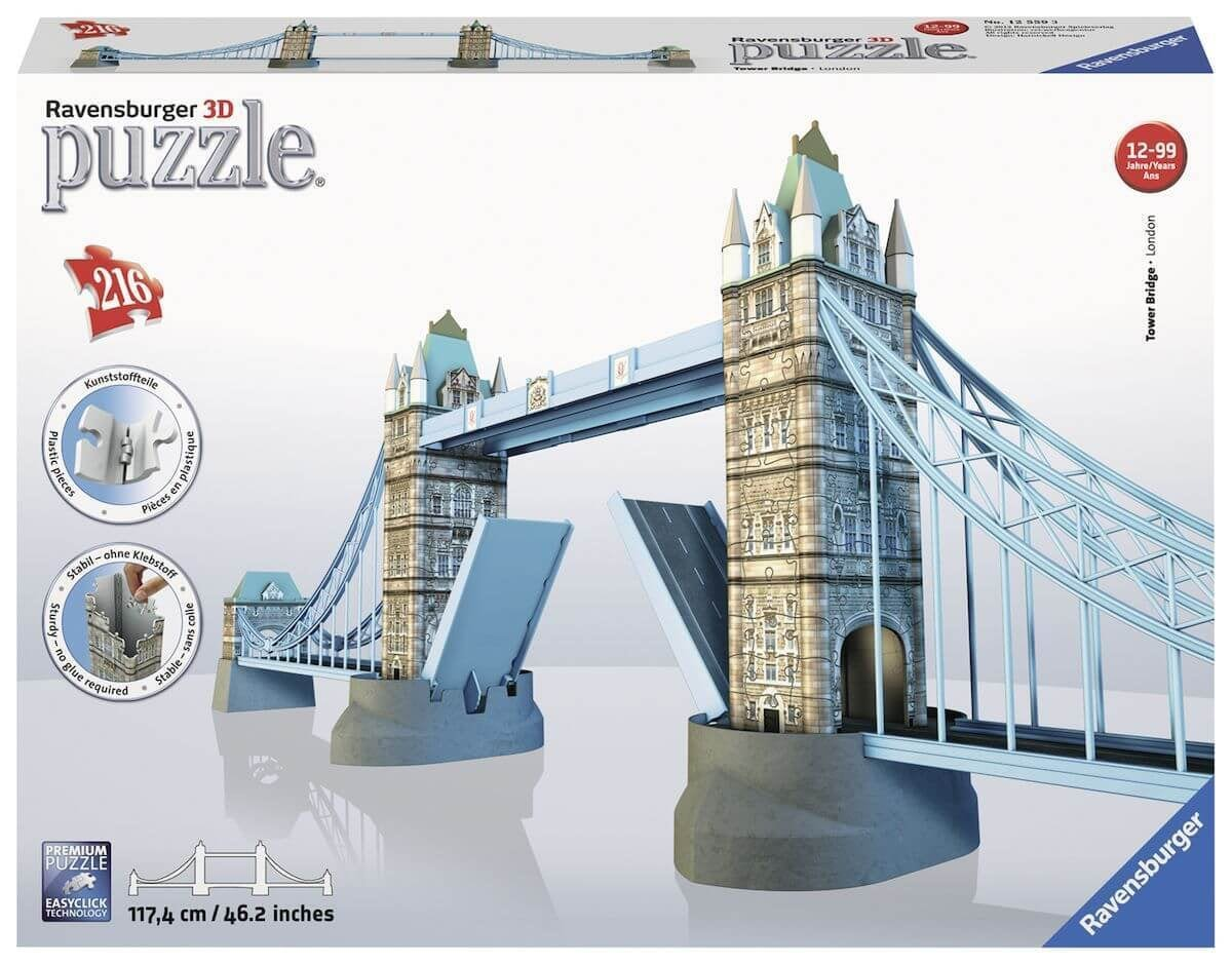 Ravensburger 3D puzzel Tower Bridge -