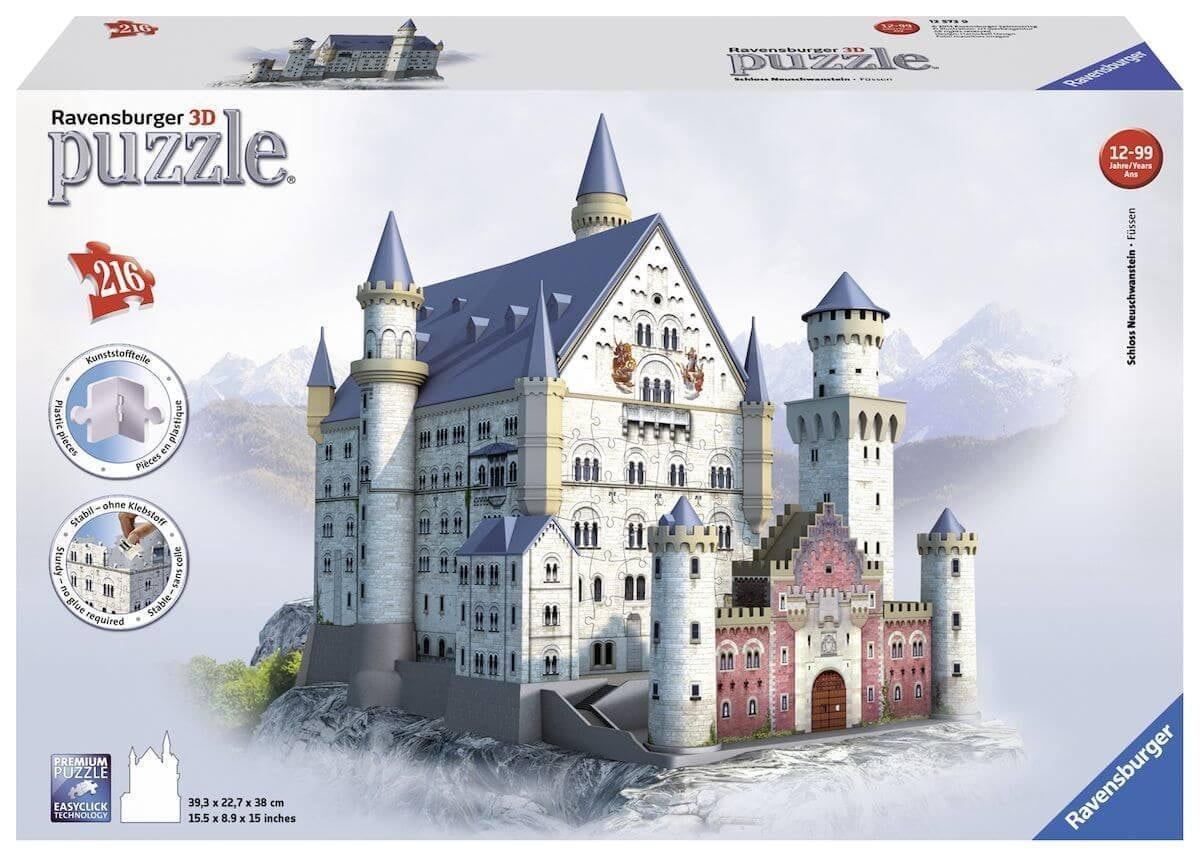 Ravensburger 3D-puzzel Neuschwanstein