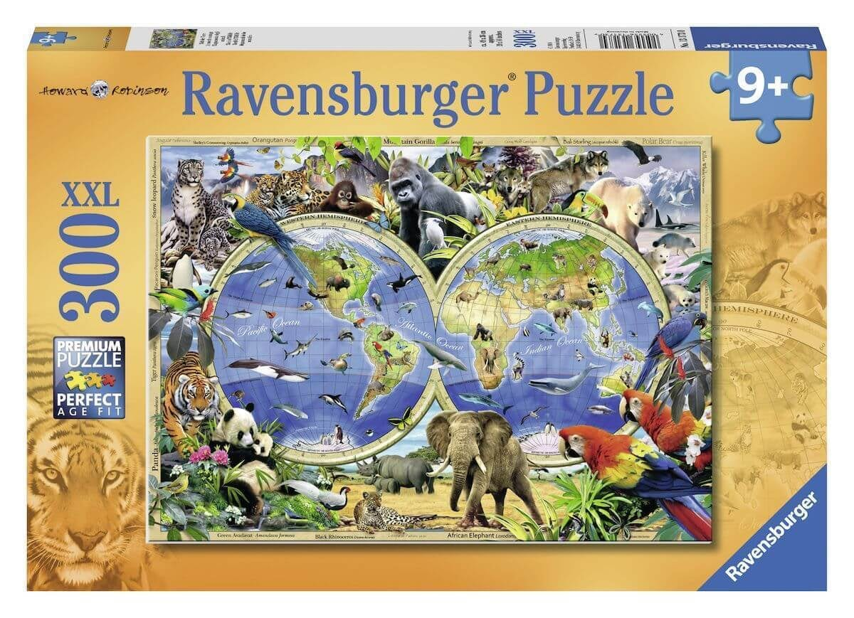 Ravensburger puzzel World of wildlife 300 XXL stukjes