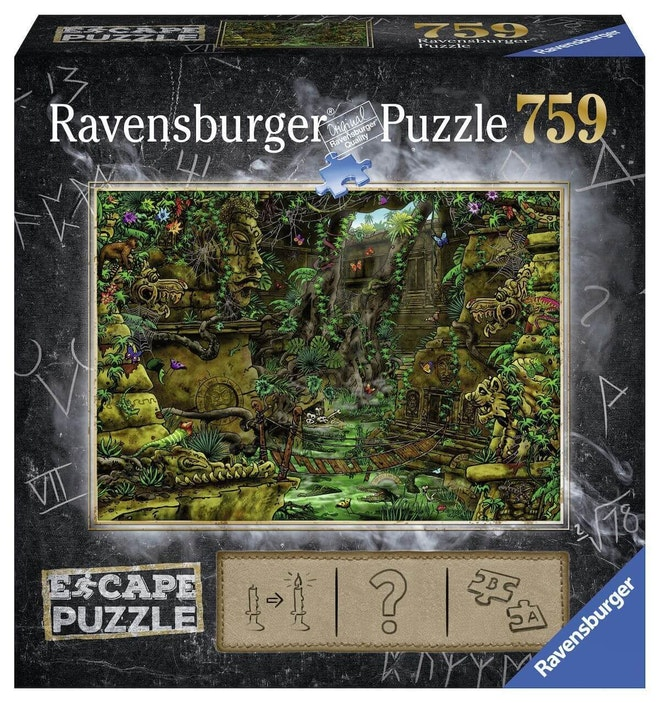 Ravensburger puzzel Escape room 2 Temple Ankor wat 759 stukjes