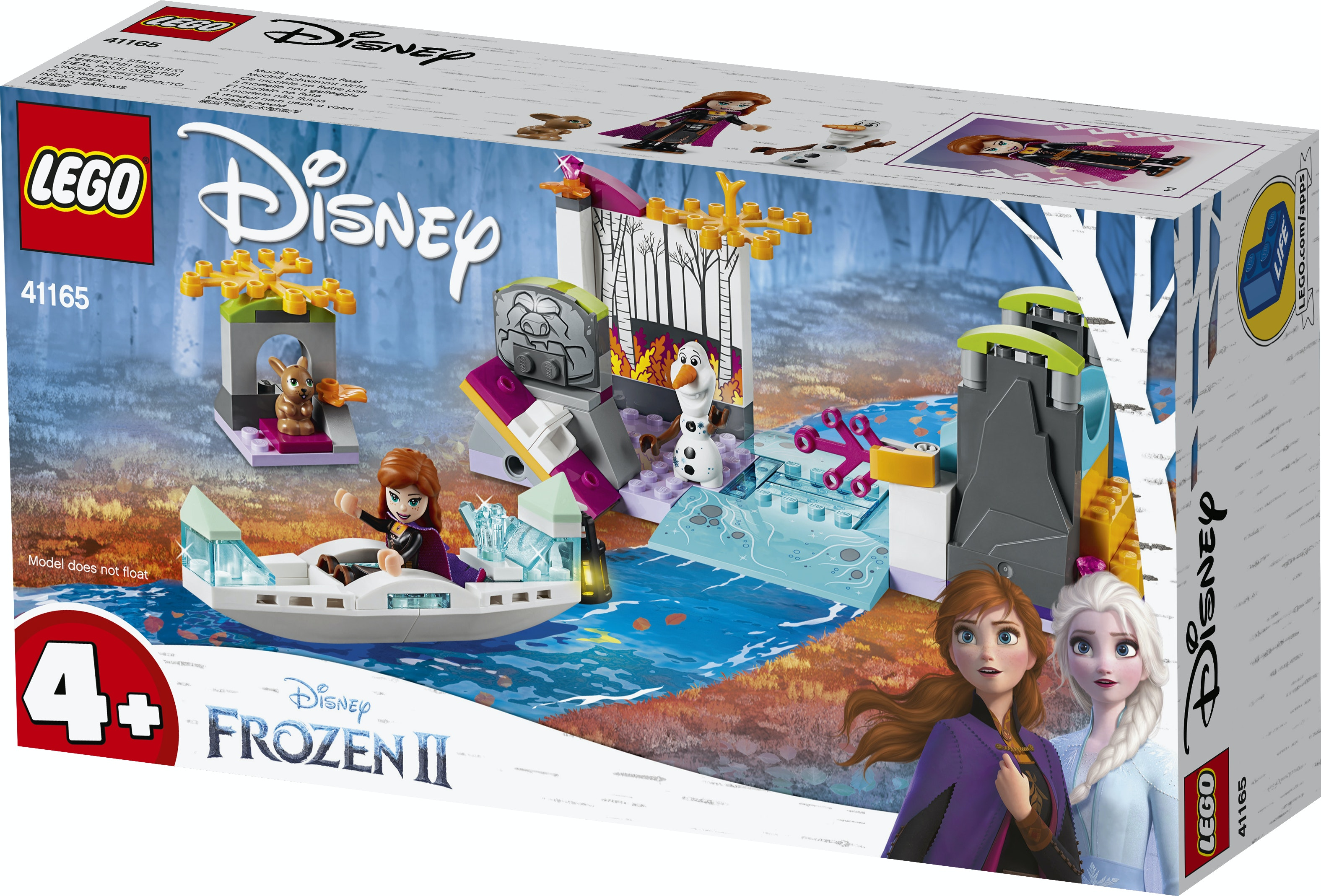 Lego 41165 Frozen 4 Anna Kano-Expeditie