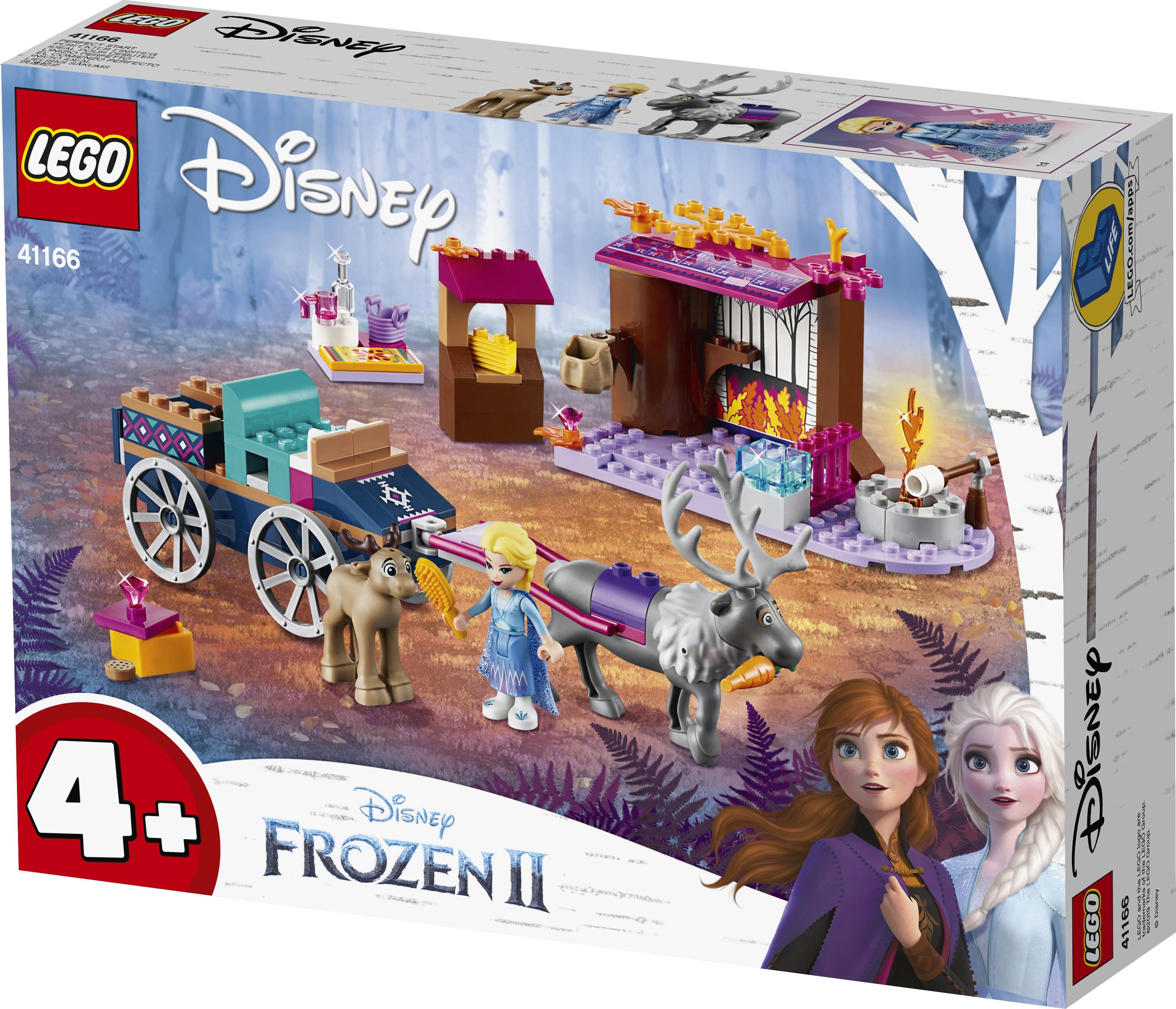 Lego 41166 Frozen 4 Elsa Koetsavontuur