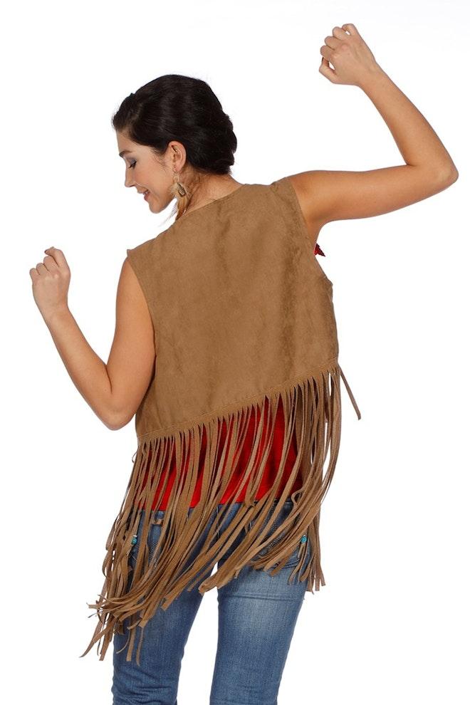 Vestje indiaan / hippy