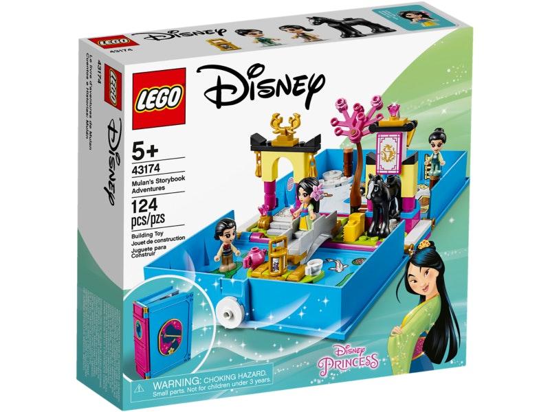 Lego 43174 Princess Mulan's Storybook Adventures