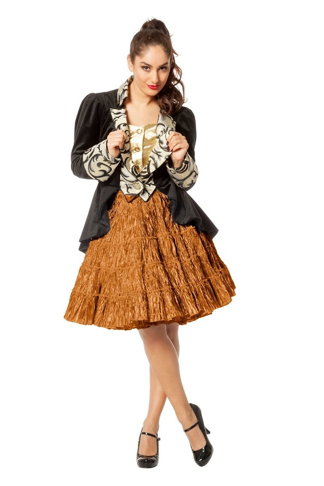 Petticoat luxe metallic, koper