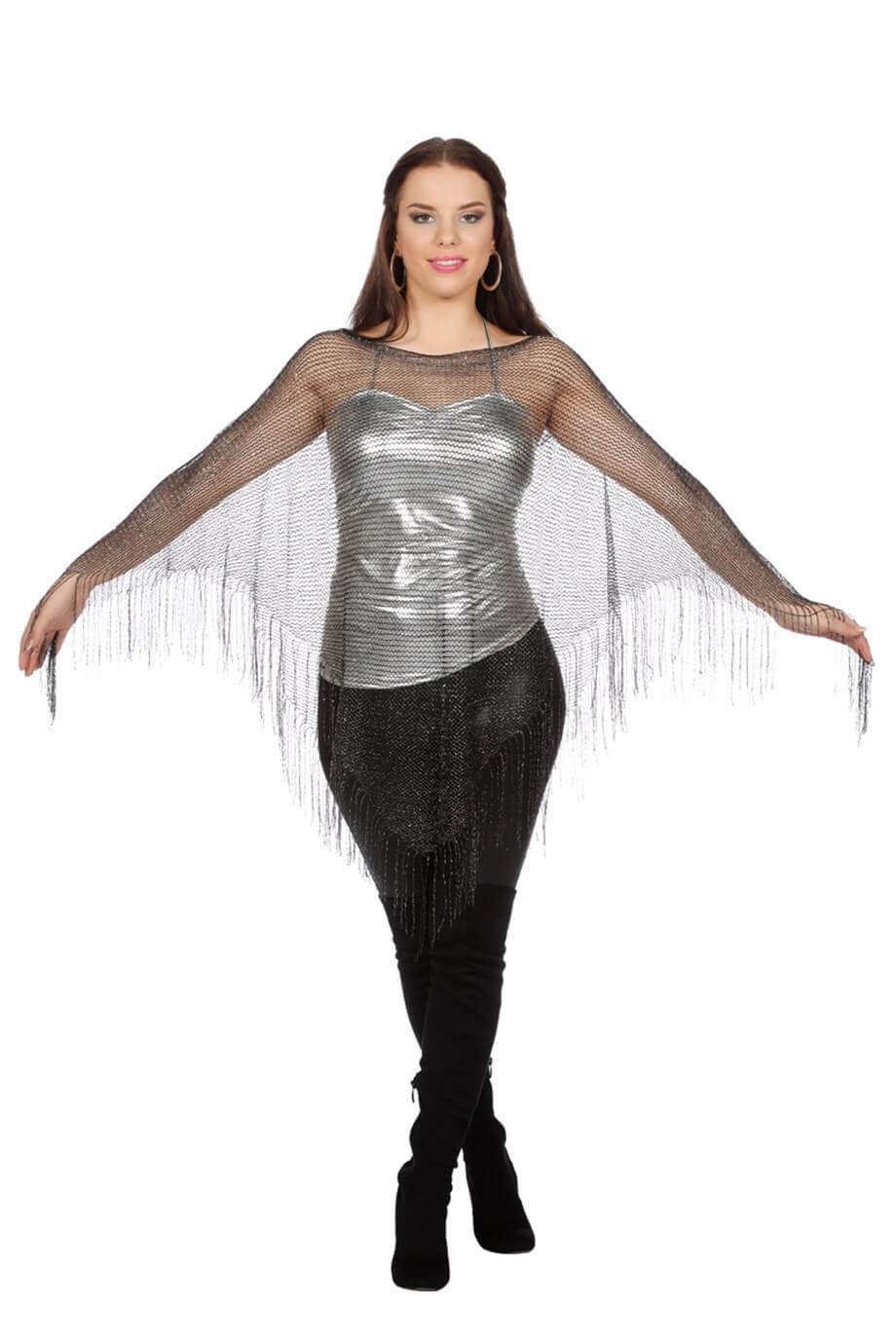 Poncho net (one size)