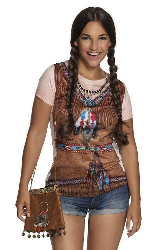 Indianen tasje