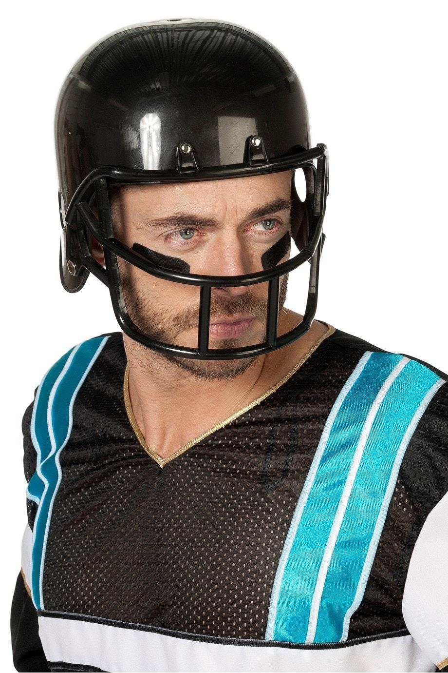 Helm American Football zwart