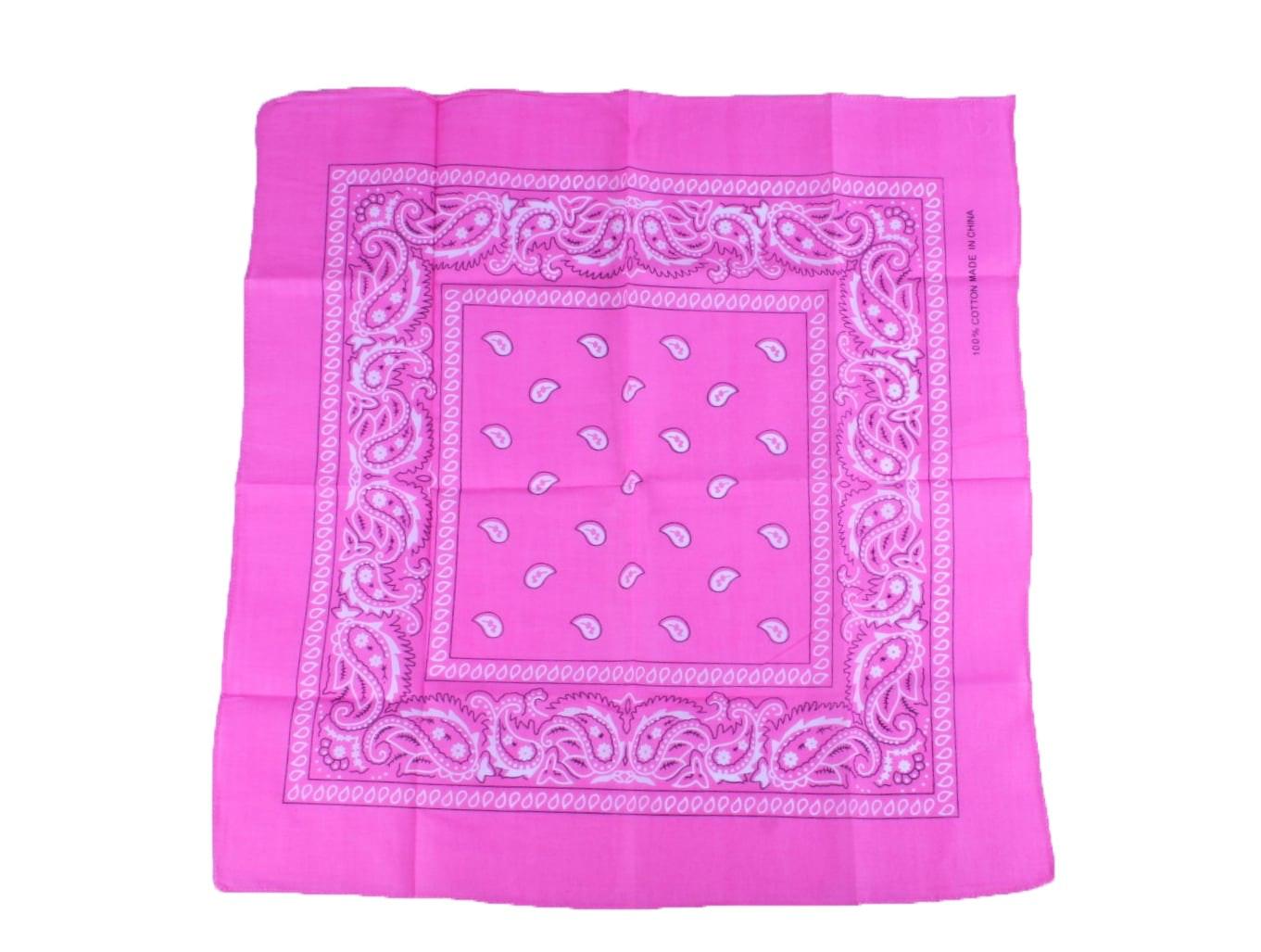 Zakdoek roze