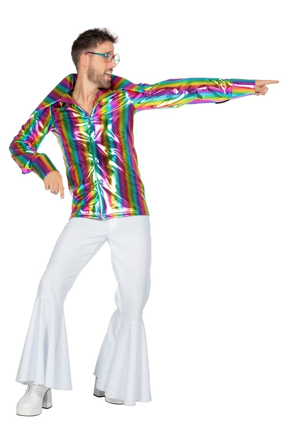 Overhemd Regenboog