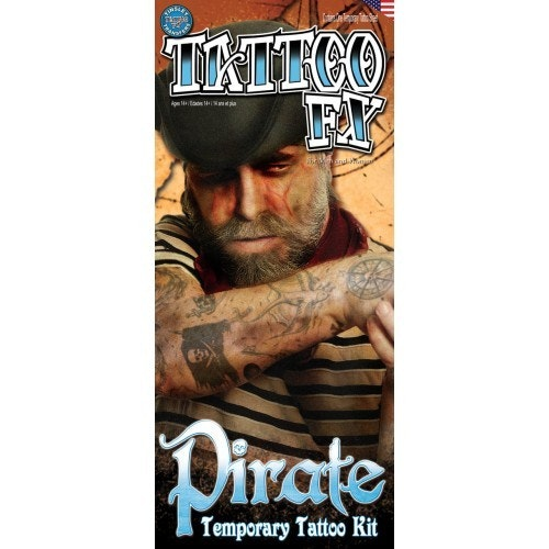 Tattoo set pirate