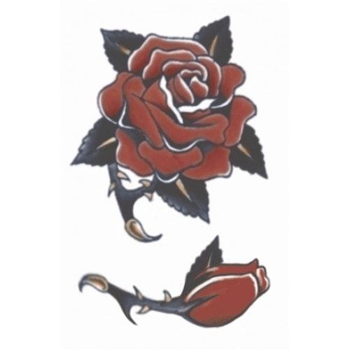 Tattoo vintage rose 1940