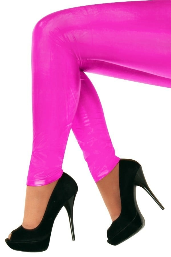 Ladies Fantasy leggings fuchsia op=op
