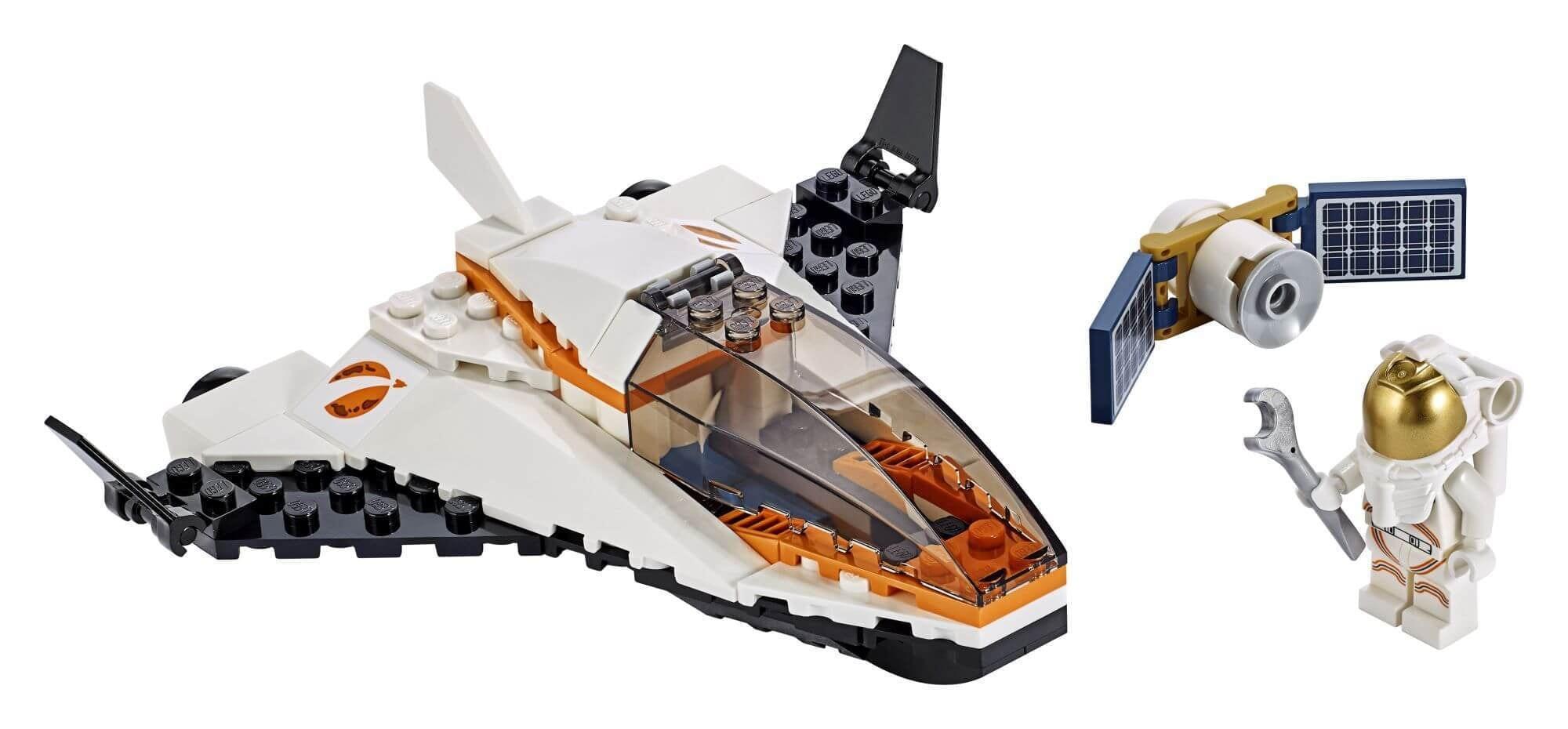 Lego 60224 City Space Satellite Service Mission