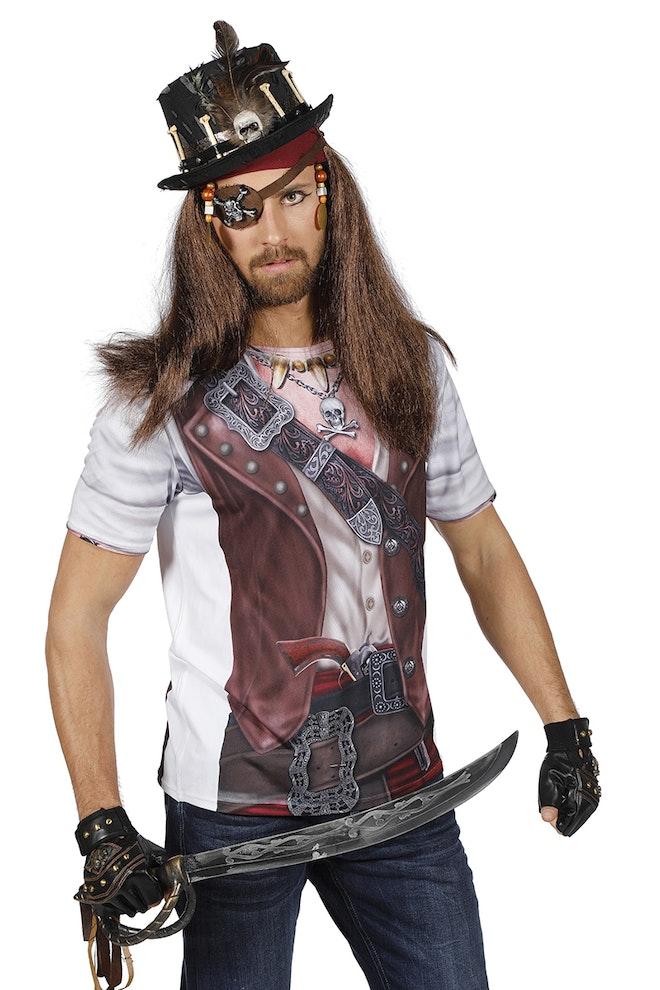 Shirt met print piraat