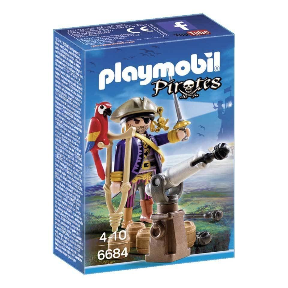 Playmobil Pirates Kapitein eenoog 6684
