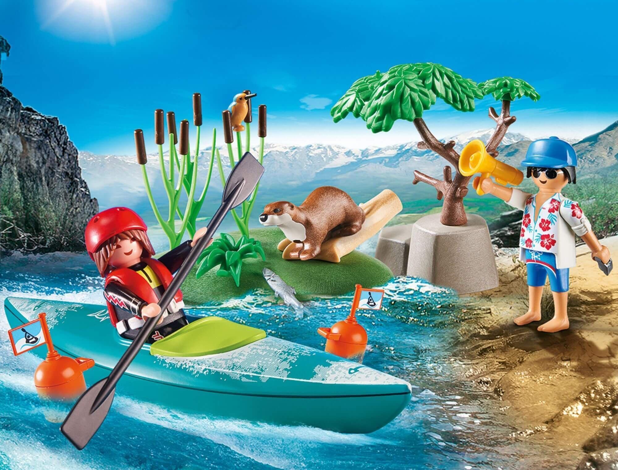 Playmobil 70035 StarterPack Kayak Training