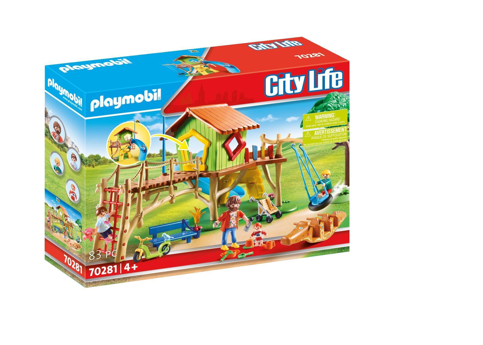 Playmobil 70281 Avontuurlijke Speeltuin (4370281)