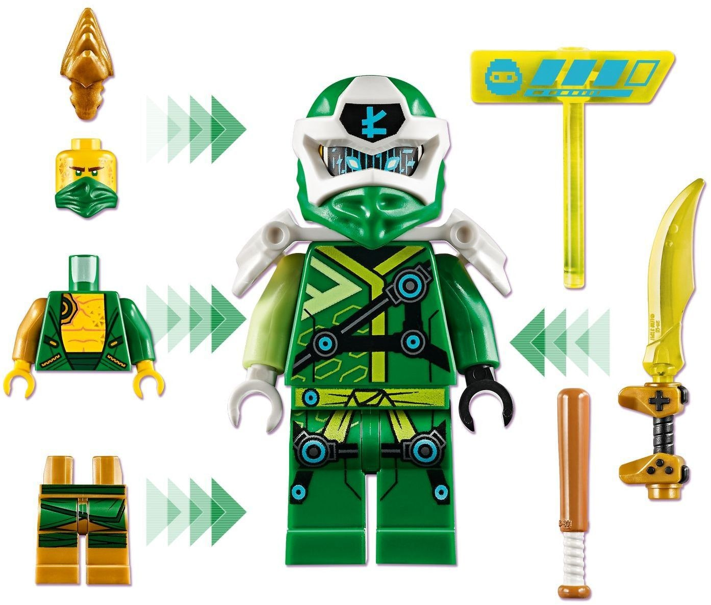 LEGO Ninjago Lloyd Avatar Arcad Pod 71716