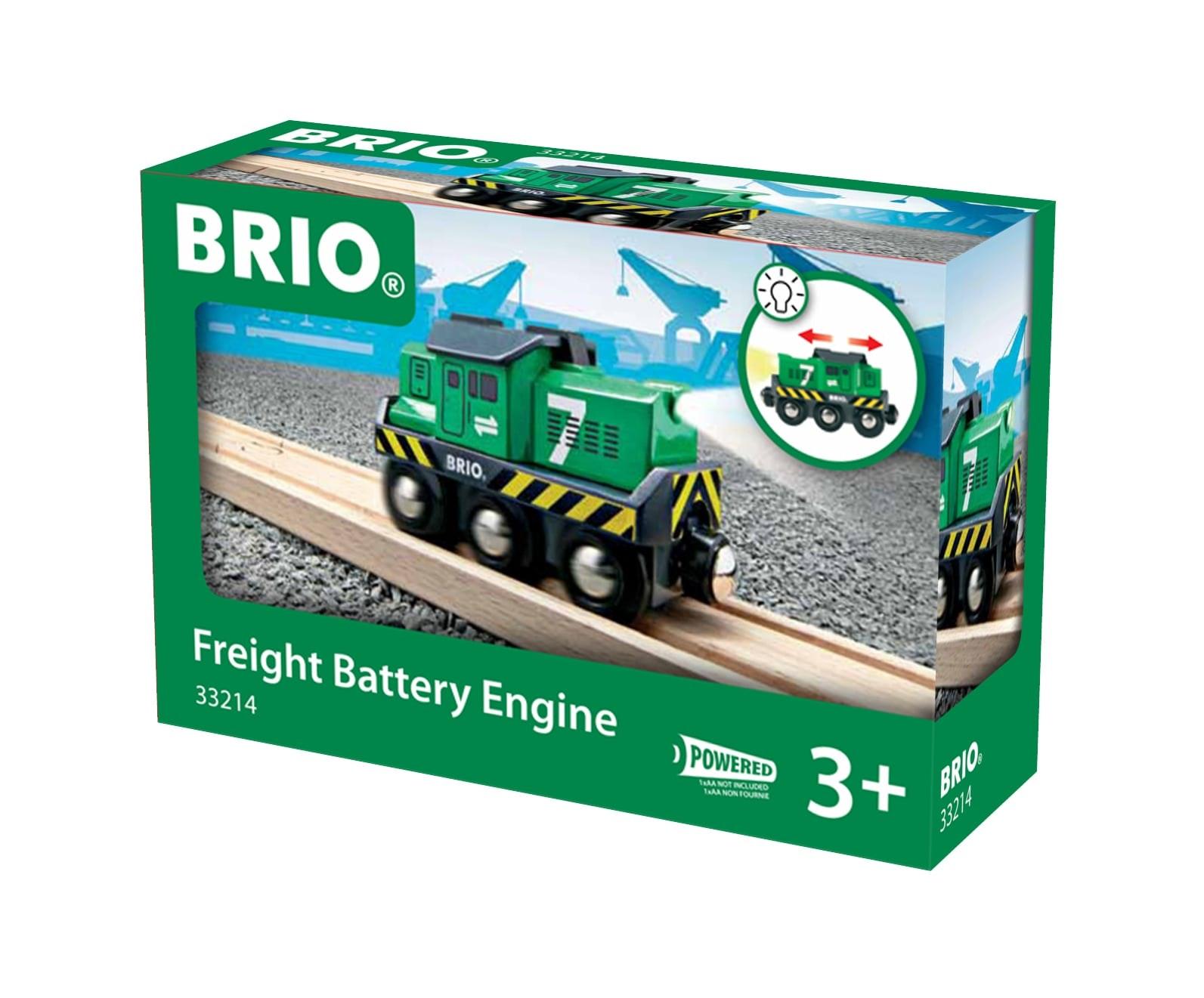 Brio op batterijen lopende vrachtlok