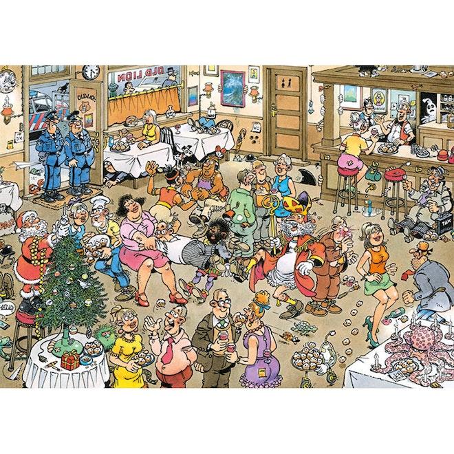 Jumbo Jan van haasteren op het nieuwe jaar! 500 stukjes