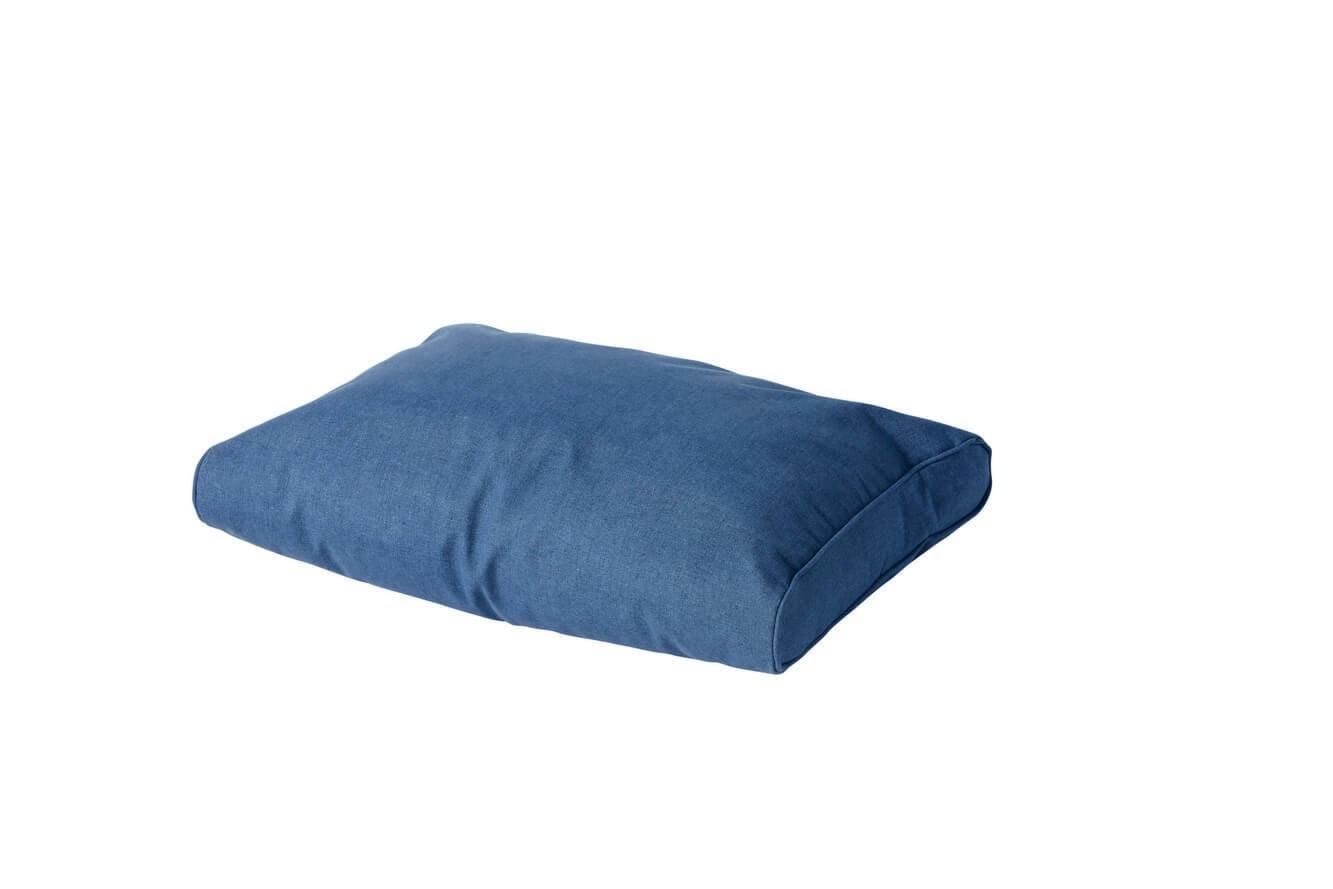OXford lounge rugkussen 60 x 40 Bleu