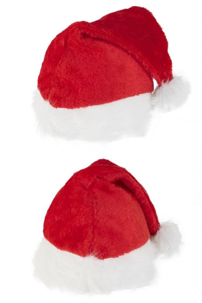 Kerstmuts plushe de luxe