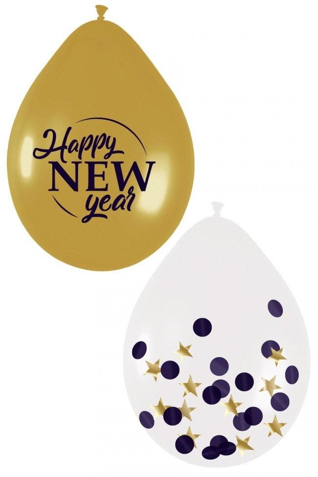 Ballon mix set Happy New Year