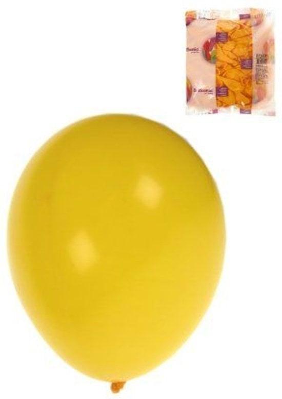Ballon helium 100x geel mt 10