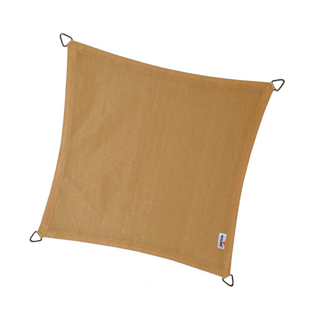 Schaduwdoek coolfit zand 3,6 x 3,6 x 3,6 x 3,6
