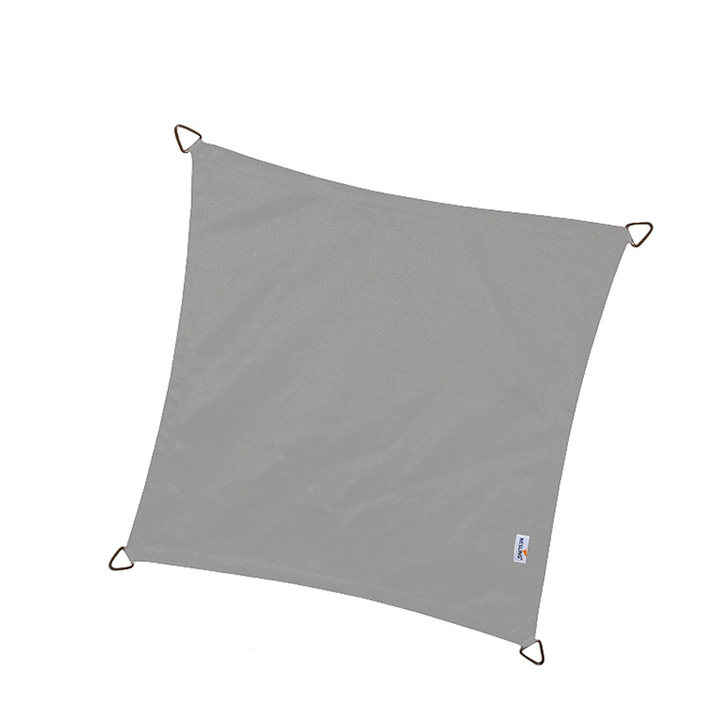 Schaduwdoek dreamsail waterdicht grijs 4,0 x 4,0 x 4,0 x 4,0