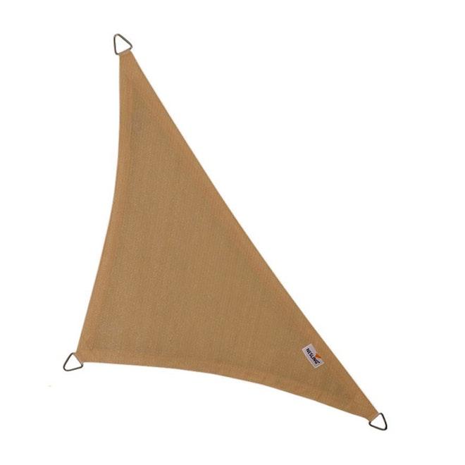 Nesling schaduwdoek Driehoek 7,1 Zand
