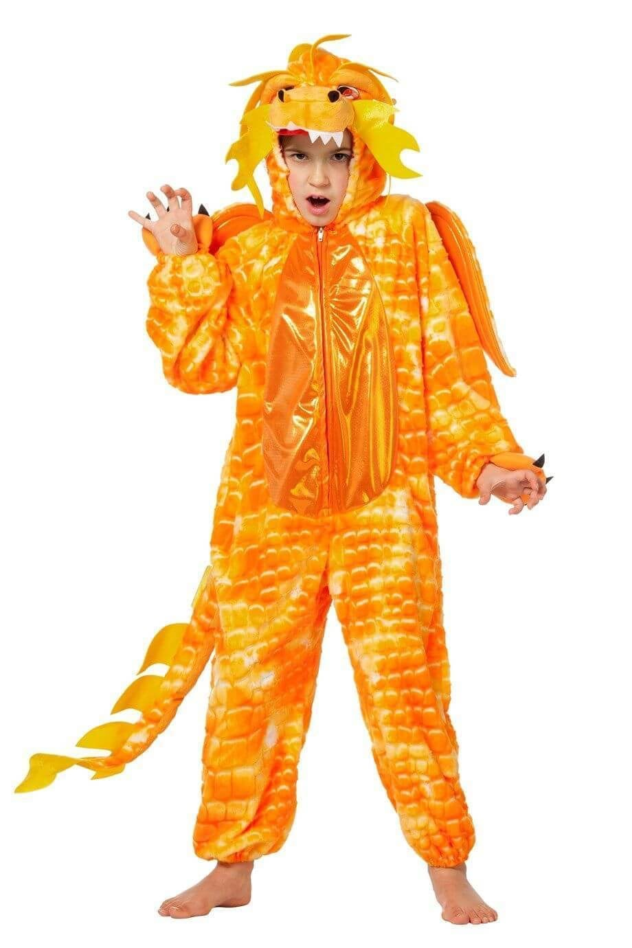 Chinese draak oranje, overall